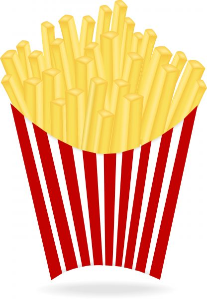 Clip art french . Fries clipart