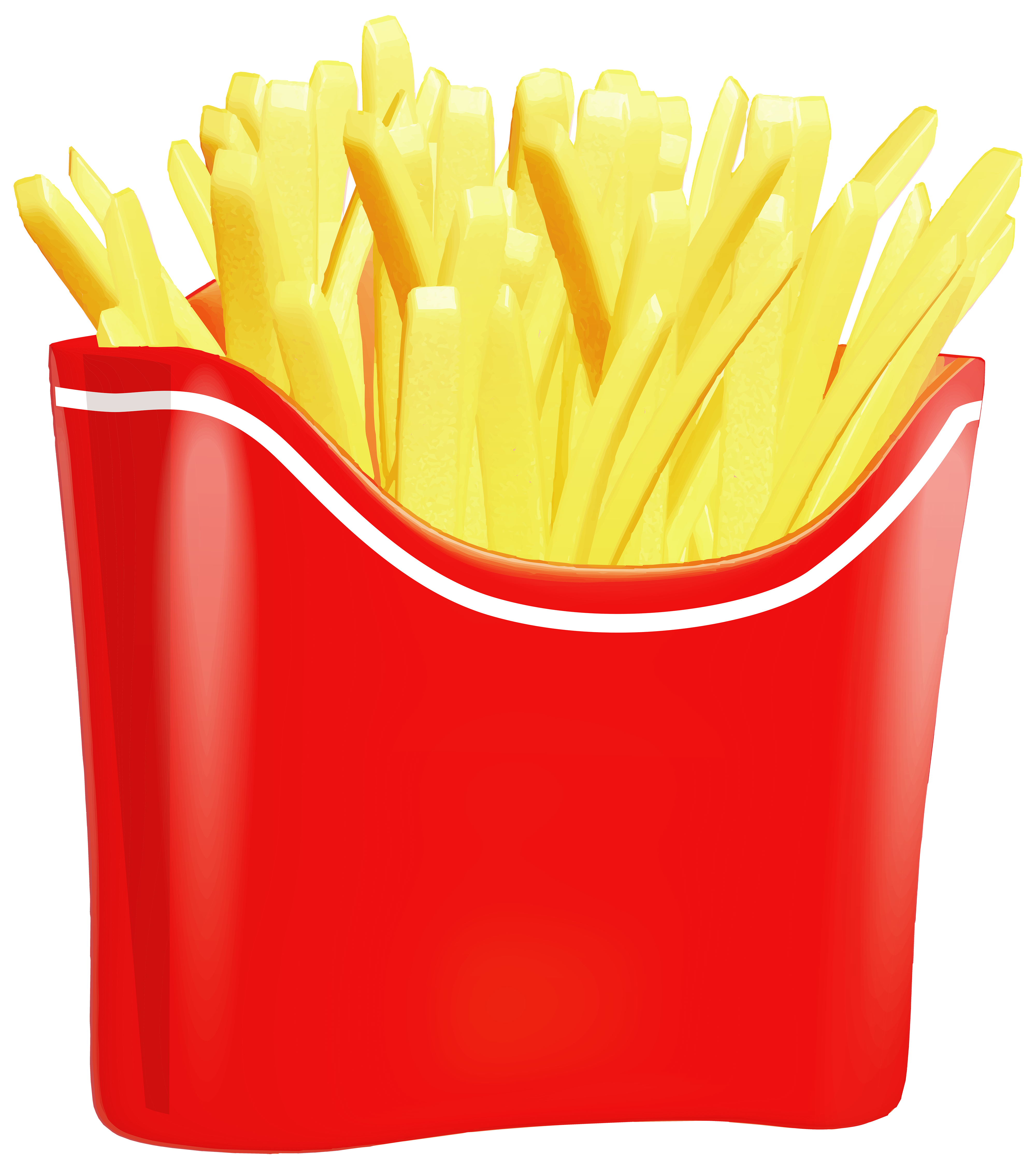 French png clip art. Fries clipart