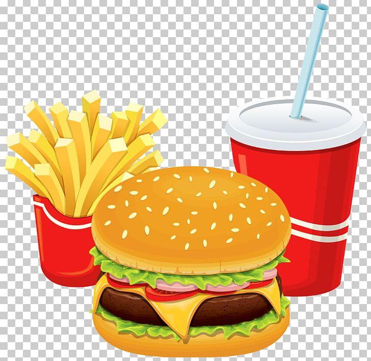 Fries clipart breakfast. Fast food junk hamburger