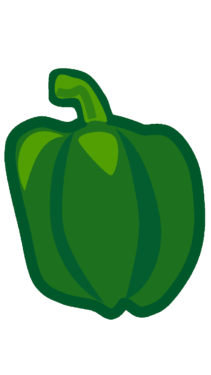 Bell pepper vegetable chili. Peppers clipart capsicum