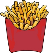 Library . Fries clipart clip art