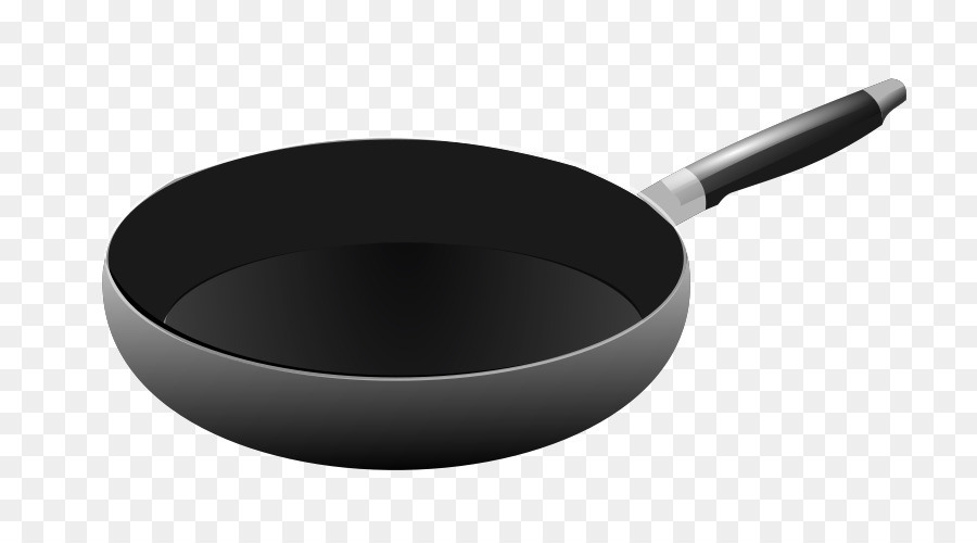 Free frying pan transparent. Fries clipart cookware