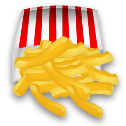 Fries clipart crispy. French icon png image