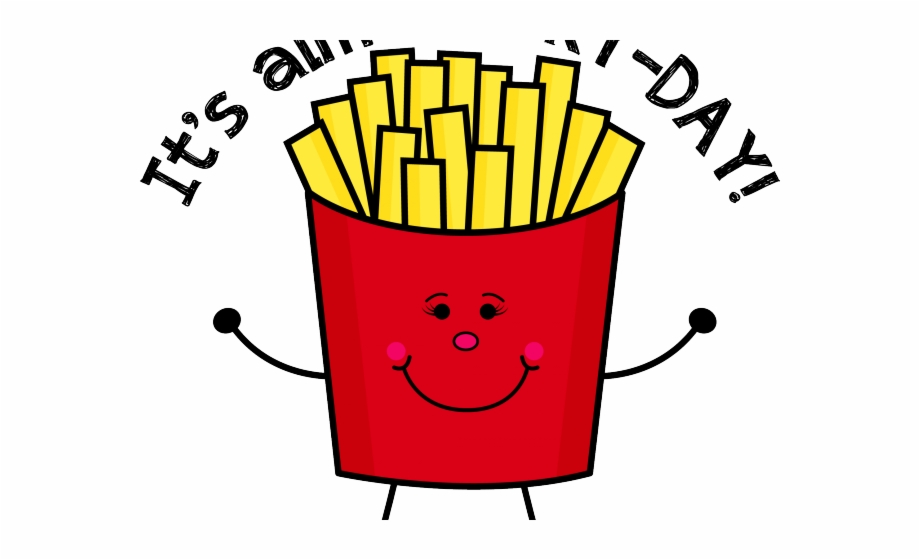 Fries clipart deep fried. French png fry day
