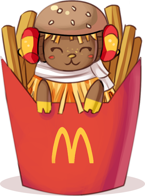 Meep silly quick frita. Fries clipart drawn