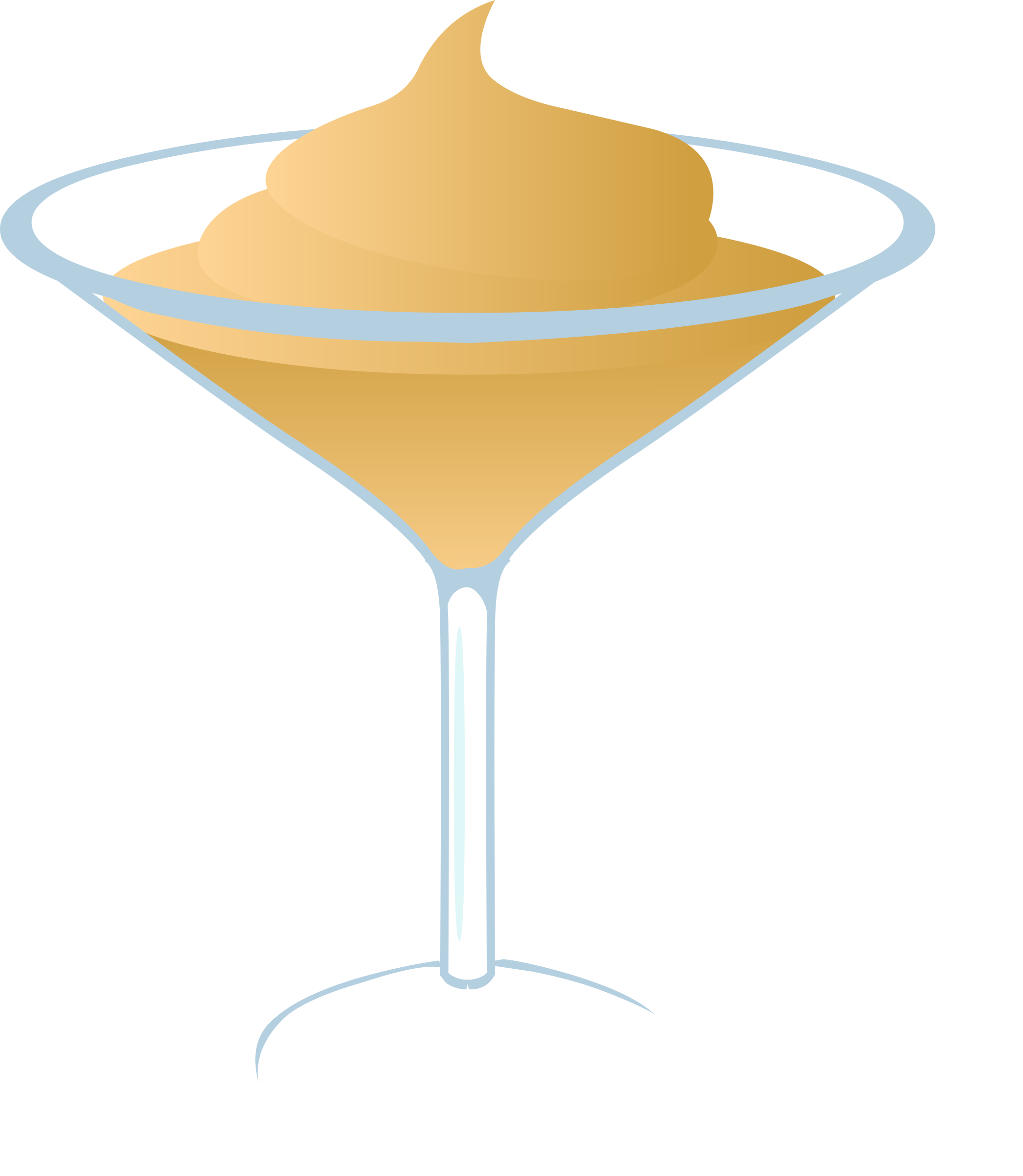 Fries clipart drink. Creamy martini big image