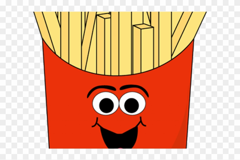 French png with faces. Fries clipart face