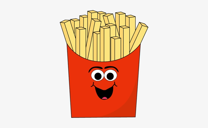 Fries clipart face. Cartoon french with transparent