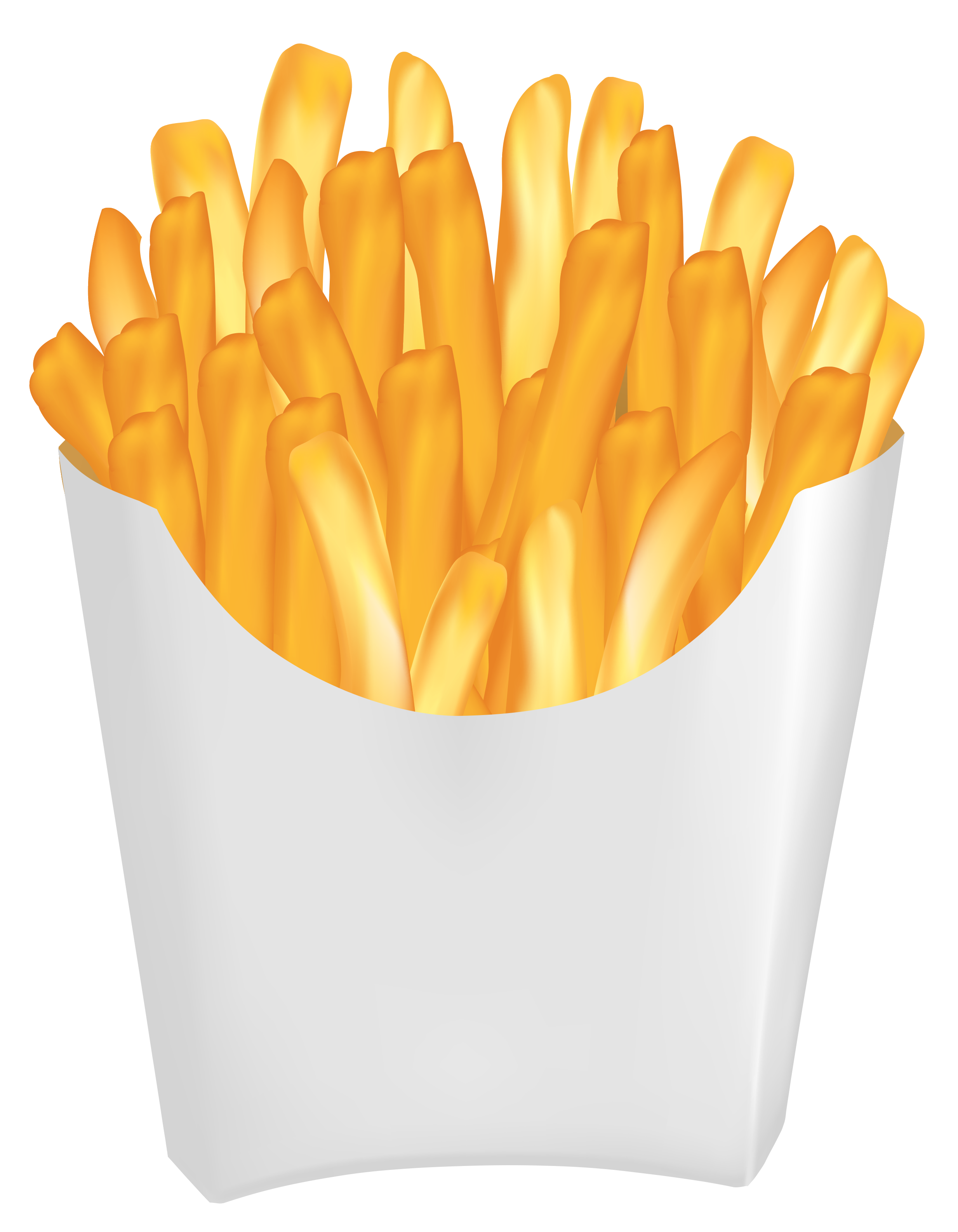 Hamburger french fast food. Fries clipart frenc