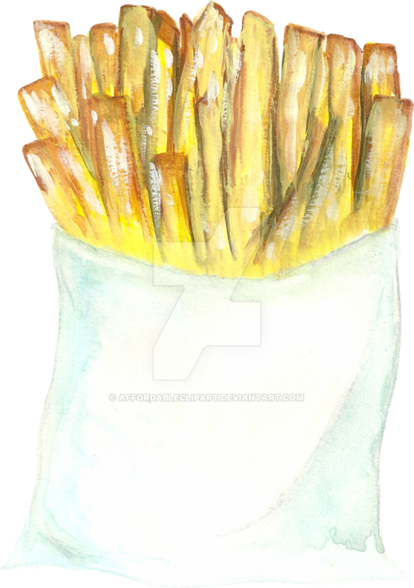 Affordableclipart yvonne deviantart frenchfries. Fries clipart fun