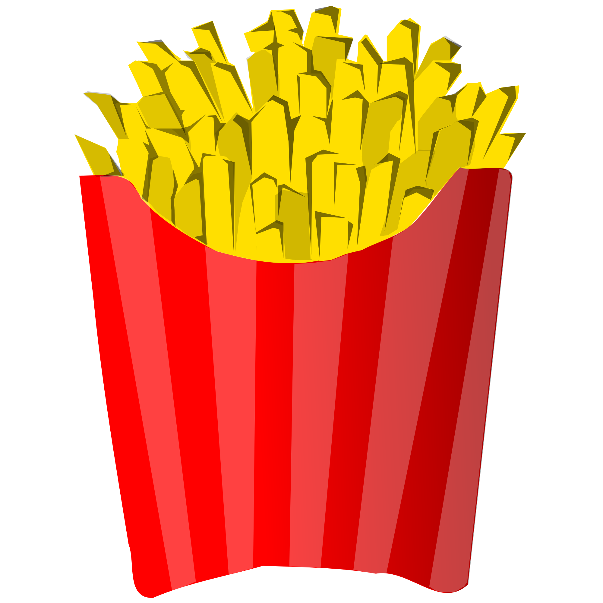 File french fries juliane. R clipart svg