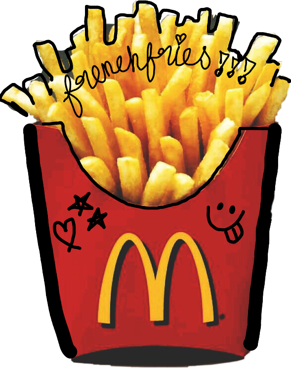 Fries clipart fun. Frenchfriessssss frenchfries picarts fastfood