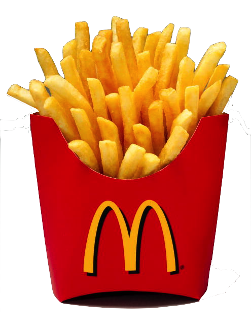 Fries clipart hat mcdonalds. Transparent tumblr transparentthingss