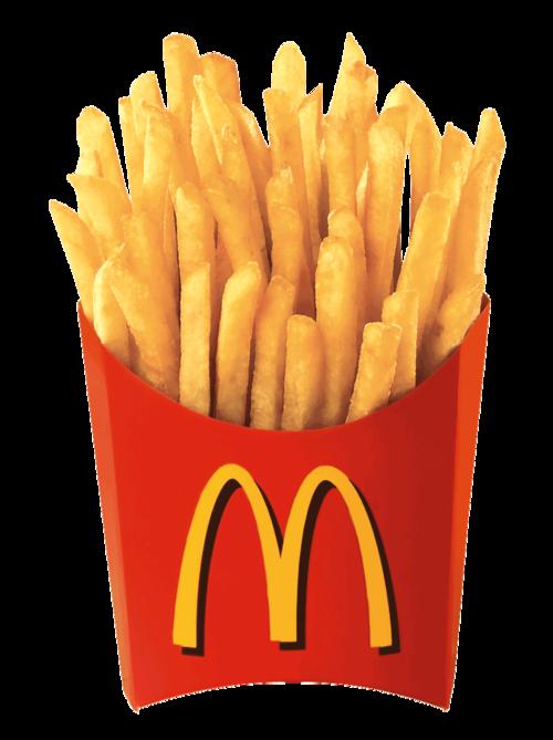 Transparent tumblr reblog . Fries clipart hat mcdonalds