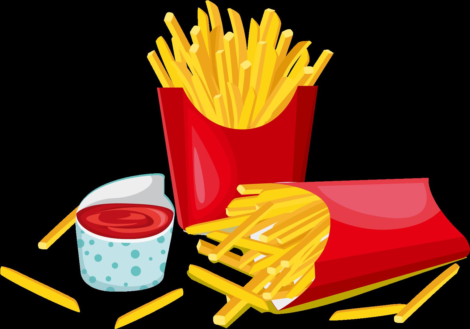 Hamburger hot dog french. Fries clipart hotdog fry