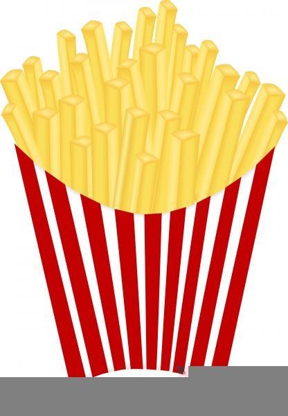 French fry free images. Fries clipart large