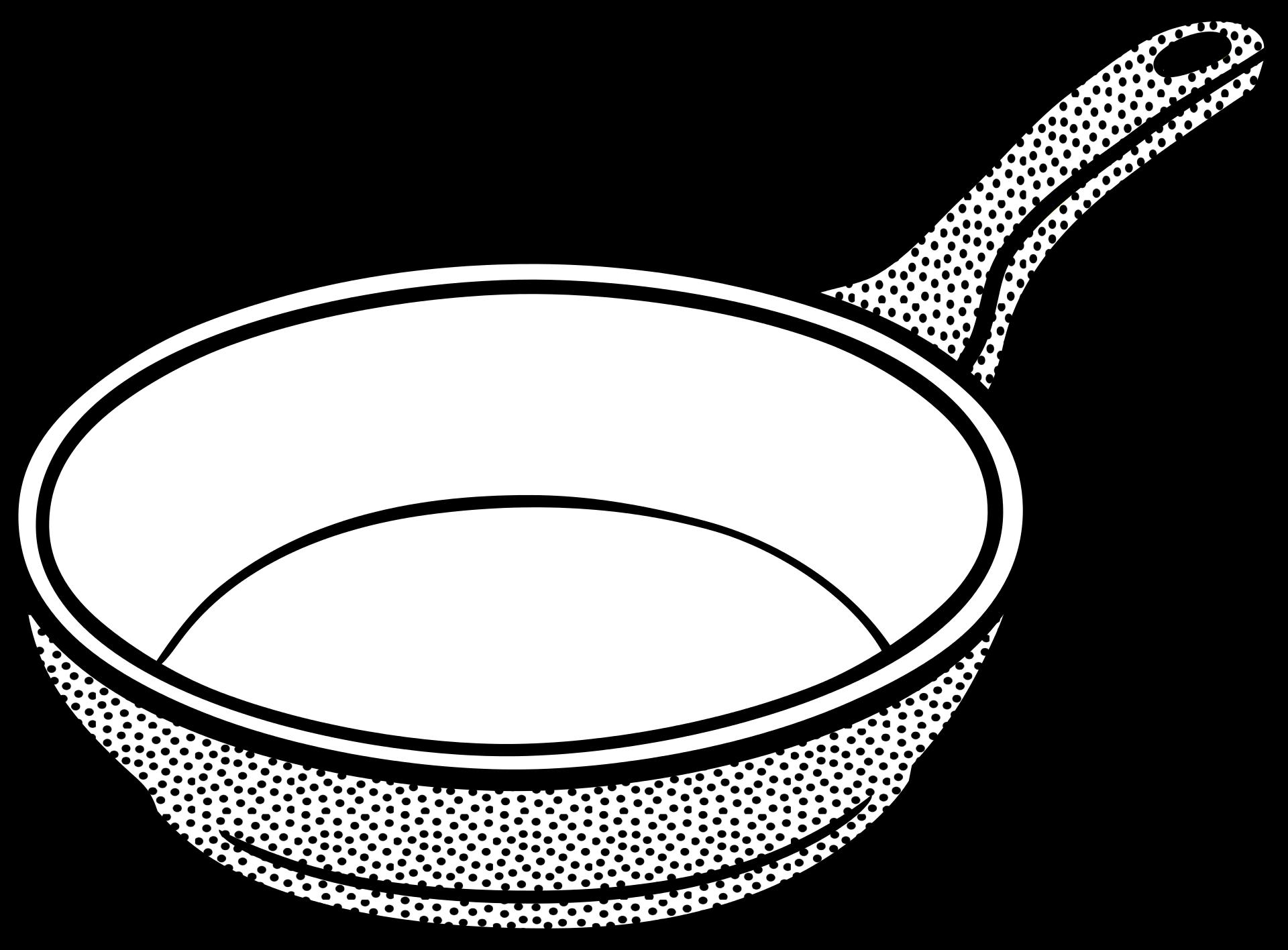 Frying clip art cooking. Ham clipart pan