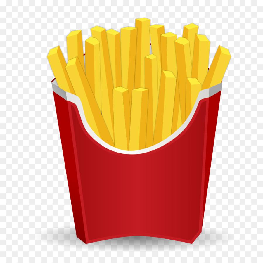 Fries clipart regular. French hamburger pencil transparent