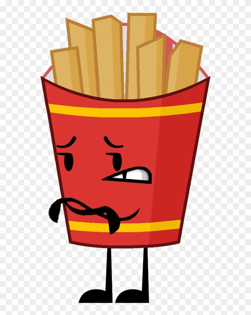 Appetizer bfdi free transparent. Fries clipart regular