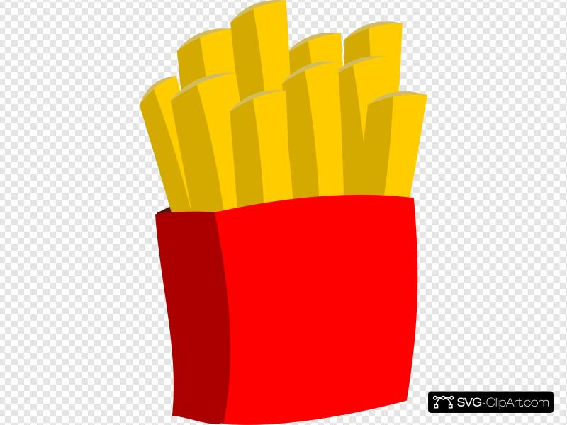 Fries clipart regular. French clip art icon