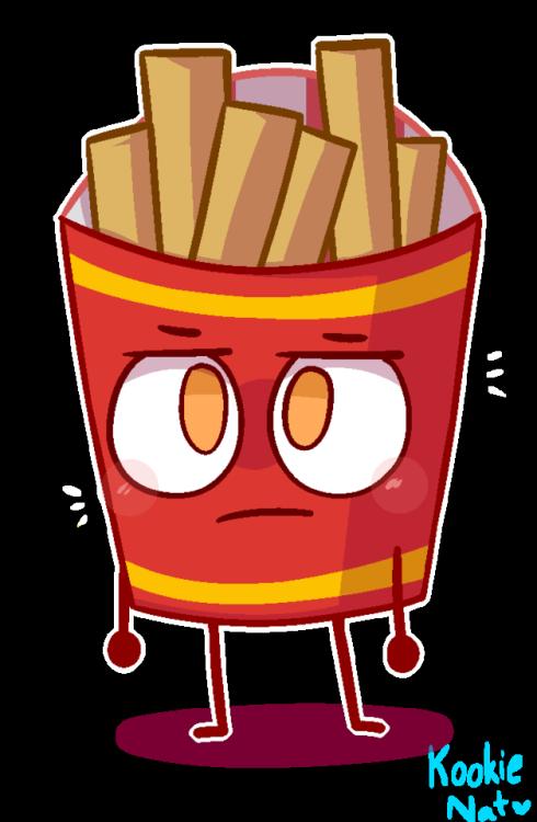 Fries sad