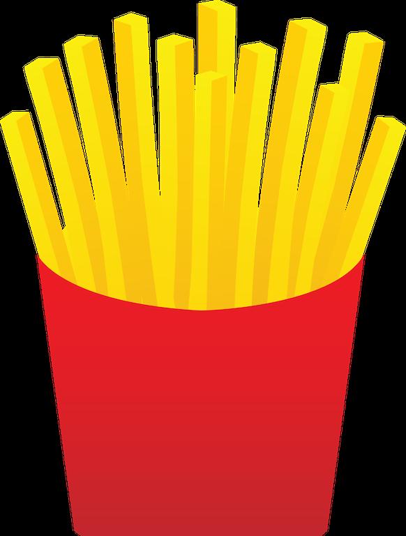 Lunchbox clipart fast food bag. Frozen fry follies dc