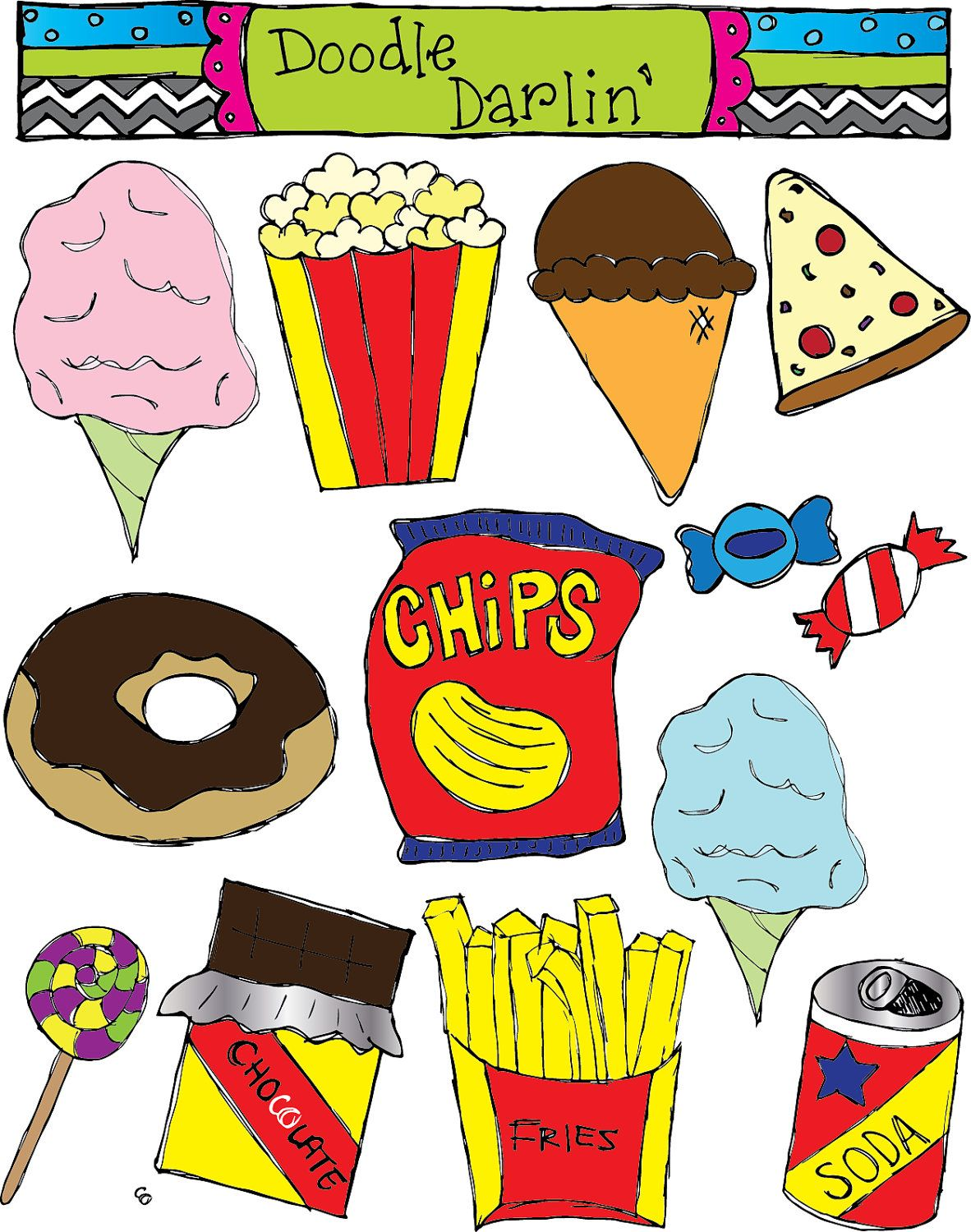 Fries clipart unhealthy food. I choose this because