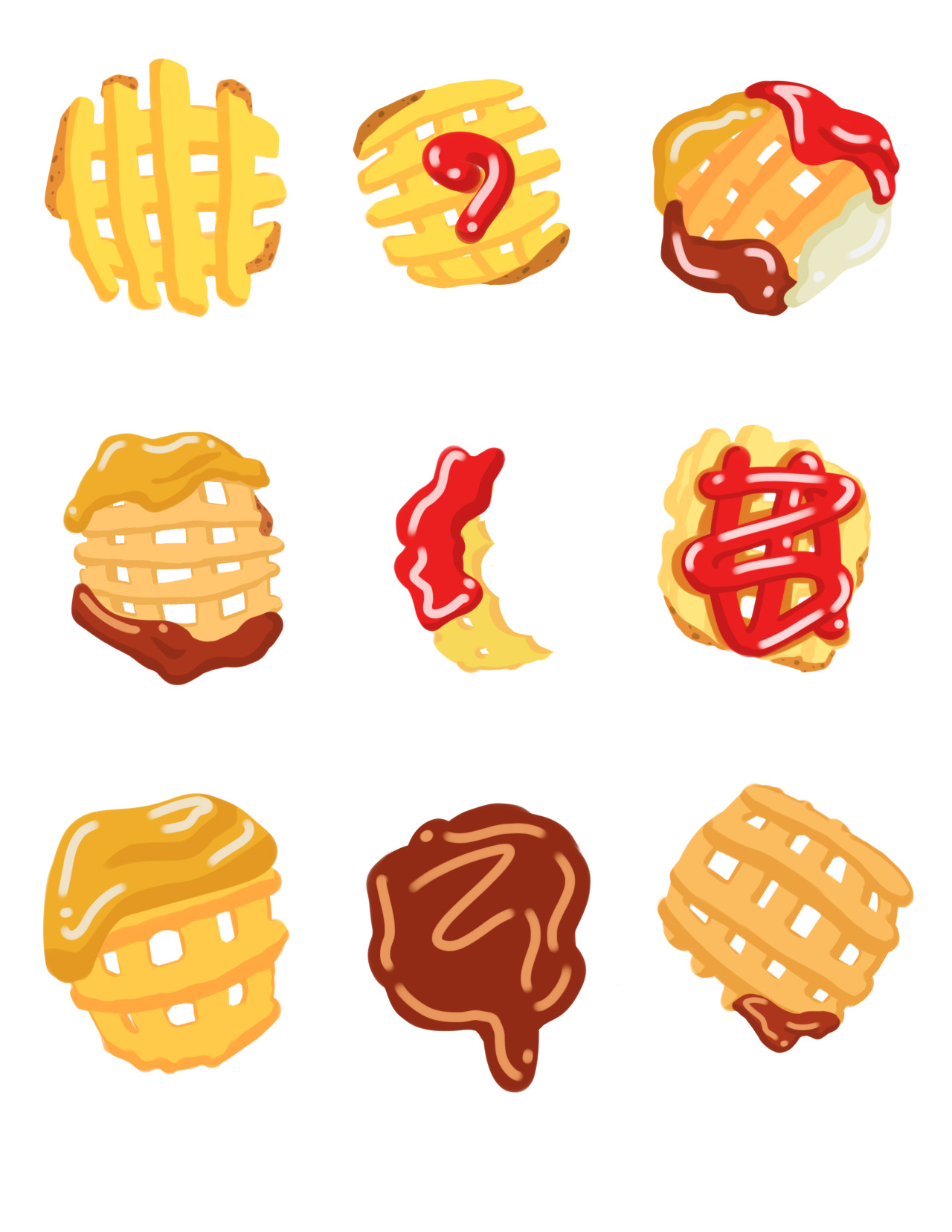 Fries clipart waffle fry. Drawing free download best