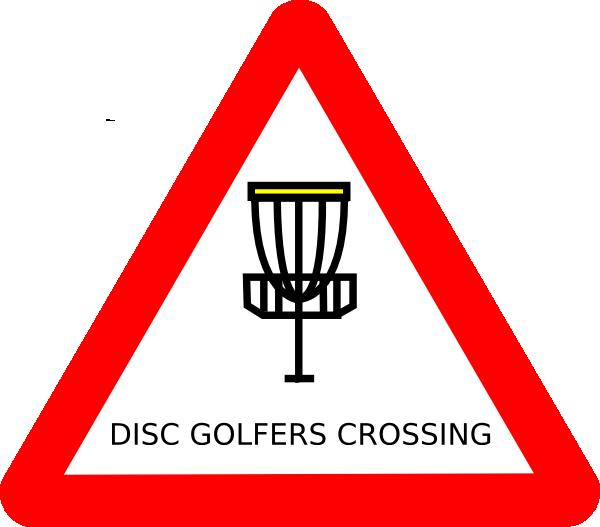 Frisbee clipart frisbee golf. Mat cutler disc roadsign