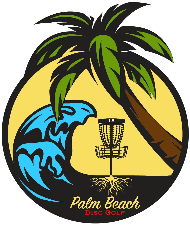 Frisbee clipart frisbee golf. Palm beach disc