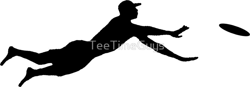 Frisbee clipart layout. Silhouette at getdrawings com