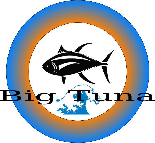 Tuna clipart can. Big frisbee design clip