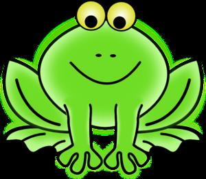 Free cute clip art. Frog clipart