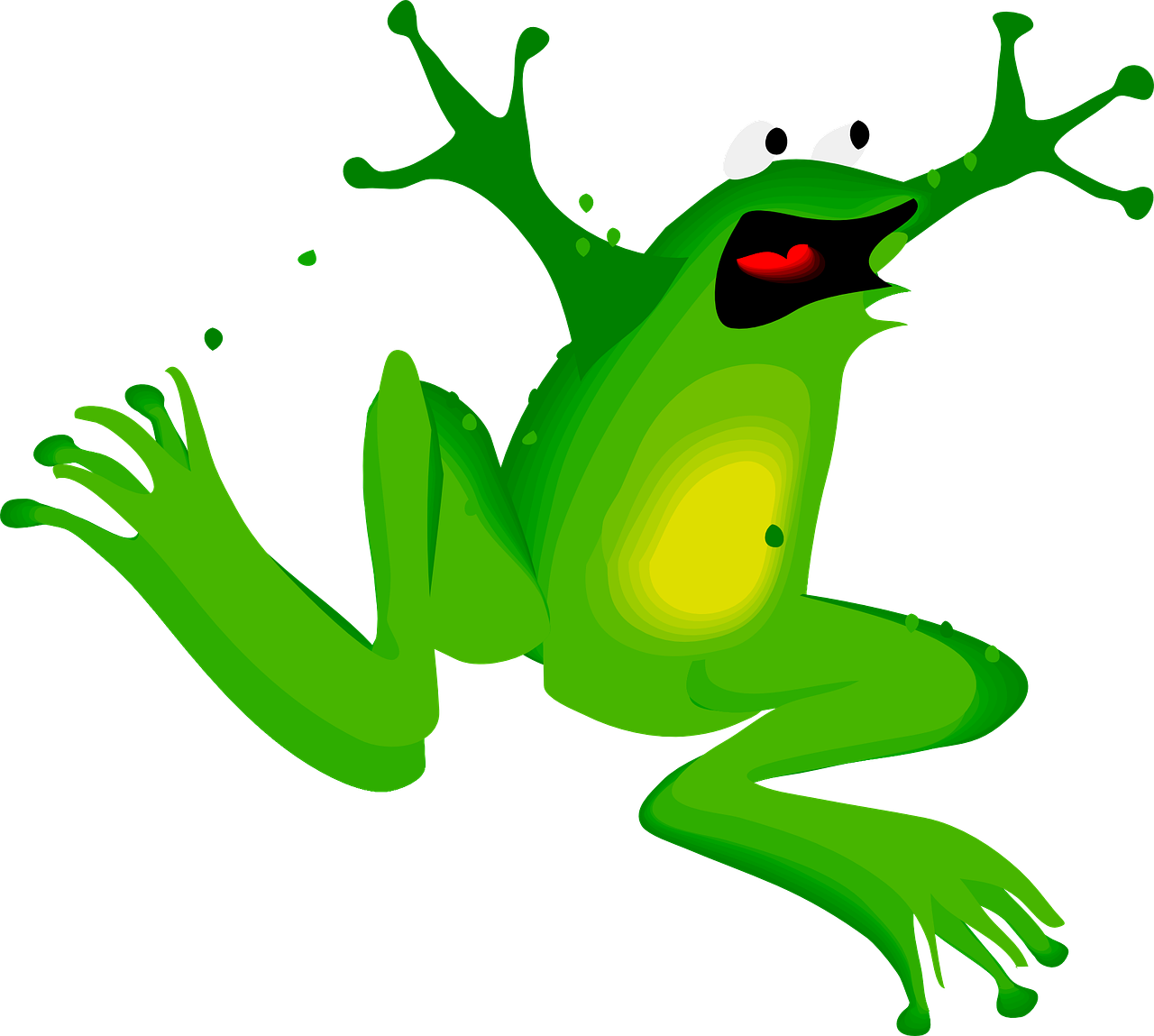 frog clipart book