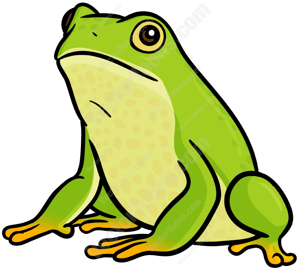 Cartoon picture free download. Frog clipart bullfrog