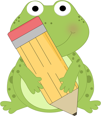 Frogs clipart classroom. Adorable clip art frog