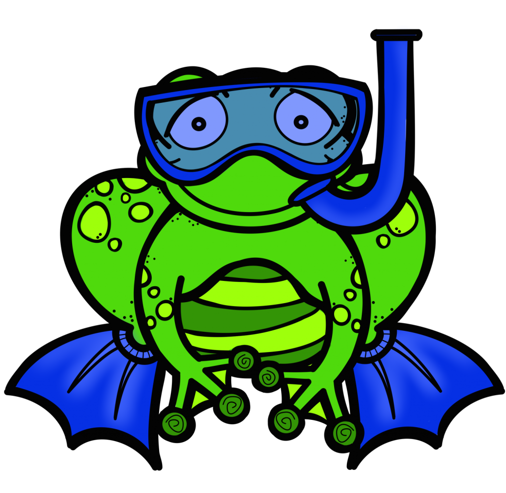 Frogs clipart easy. Friendly letter writing the