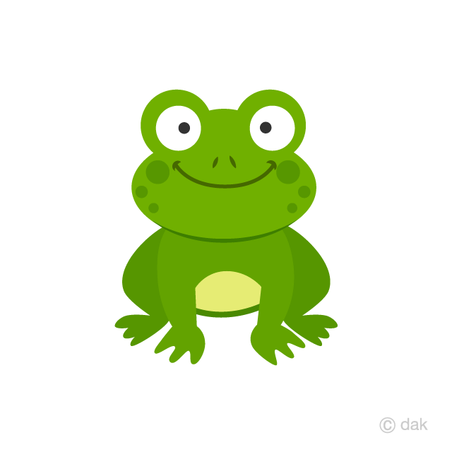 Frog free picture illustoon. Frogs clipart sign