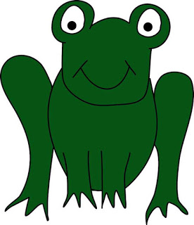Frog clipart colored. Really cool blog free