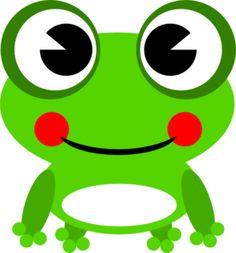 best clip art. Frog clipart craft