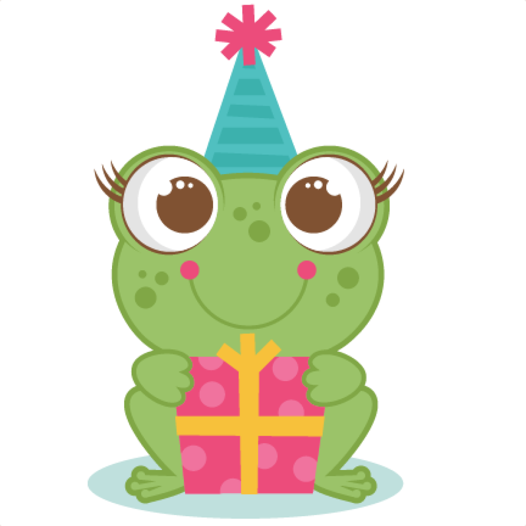 frogs clipart birthday