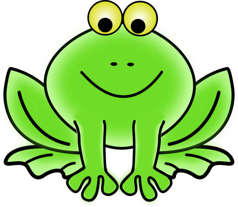 Free images black and. Frog clipart easter