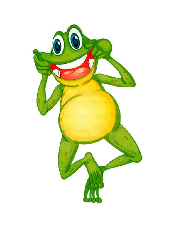 Toad clipart colorful frog.  pinterest cartoon cards