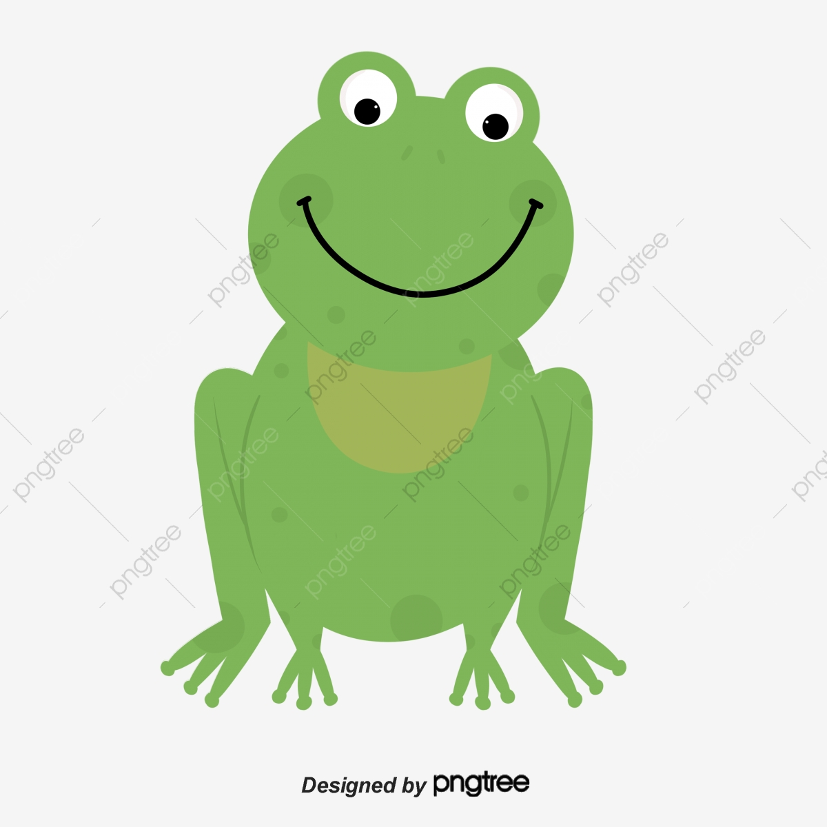 Frog clipart file. Animal cartoon lovely png
