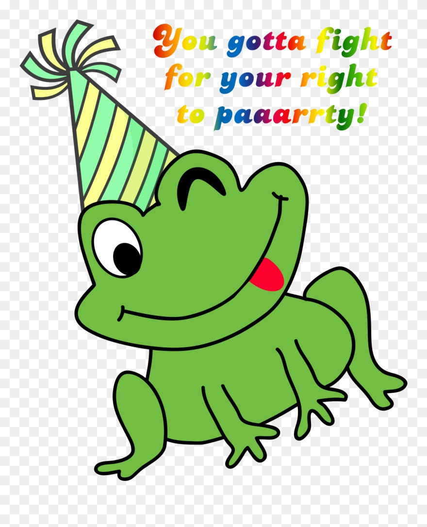 Frog clipart green frog. Small png transparent
