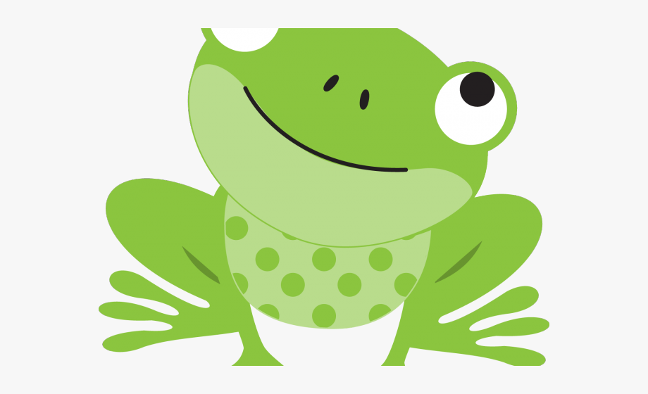 Frogs clipart green frog. Girly clip art cute