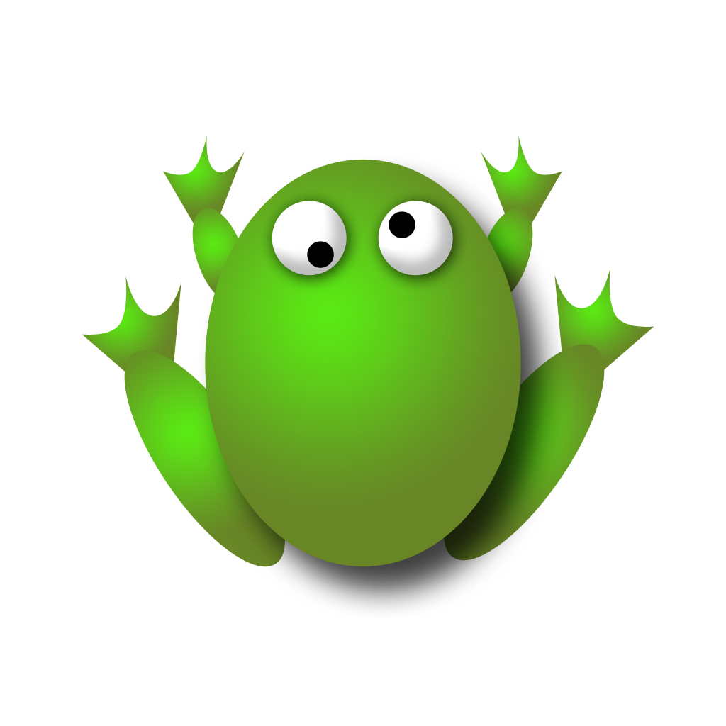Gem smart oh toad. Leaf clipart frog