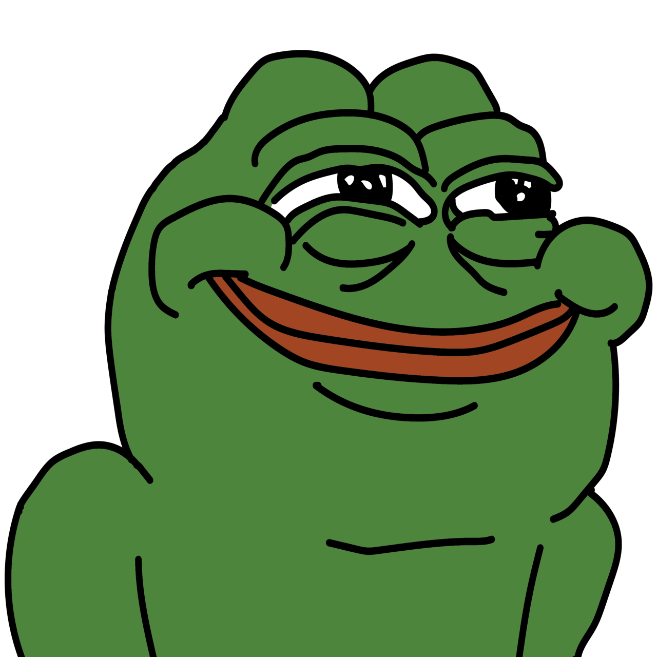 Tired clipart frog. Memes pepe toons cartoons