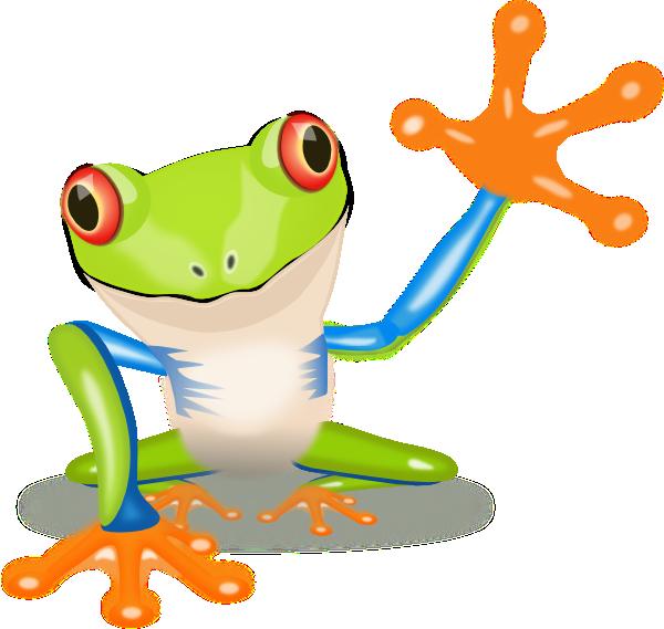 Frog clipart school. Image of tree waving