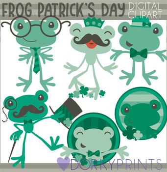 Patrick s green . Frog clipart st patricks day